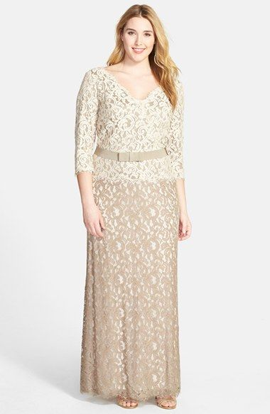 Gold, Taupe, and Neutral Mother of the Bride Dresses | Mothers ...