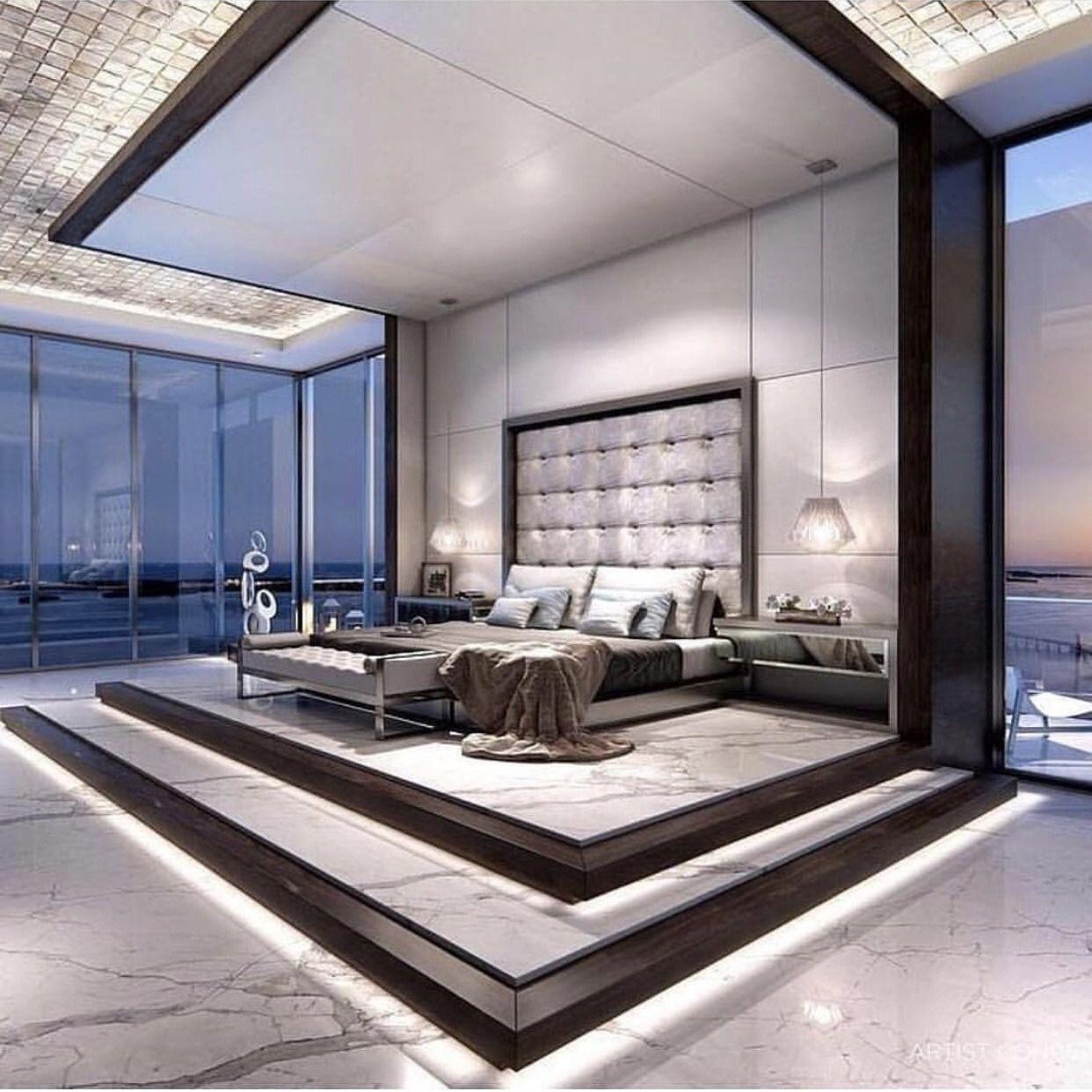 Luxus Schlafzimmer Apartments #ModernesLuxus-Interieur ...