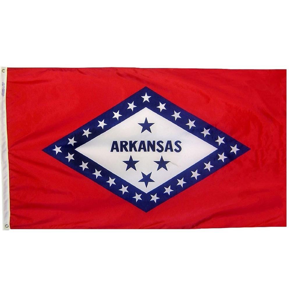 Annin Flagmakers 4 Ft X 6 Ft Arkansas State Flag In 2020 Arkansas State Arkansas Us States Flags