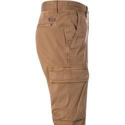 Strellson pantalones cargo hombres, algodón, marrón Strellson