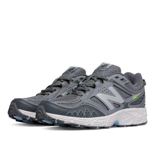New Balance 510v3 Trail Women's Trail Running Shoes - Grey/Blue/Green  (WT510LG3