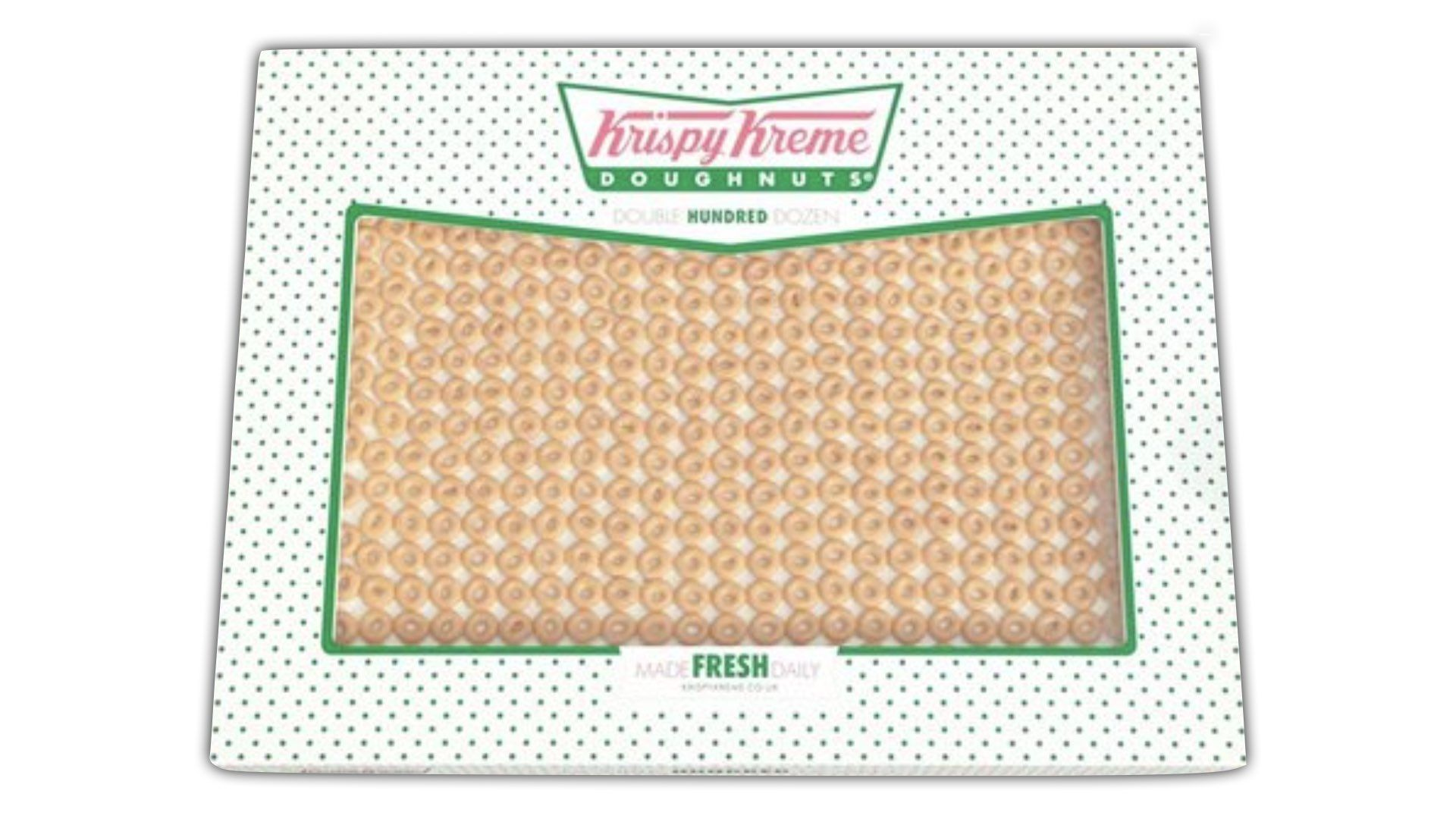 Check Out This Video Of Krispy Kreme Donuts And That Huge