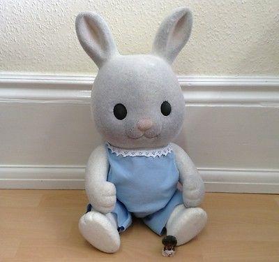 Puppenstuben & -häuser Vintage Sylvanian Families Early Rabbit Grandmother Grandfather