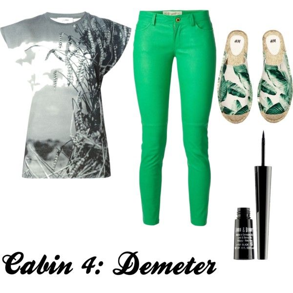Cabin 4: Demeter (Percy Jackson) by ginnyarrow on Polyvore featuring polyvore, interior, interiors, interior design, home, home decor, interior decorating, Jean-Paul Gaultier, MICHAEL Michael Kors, H&M and Lord & Berry