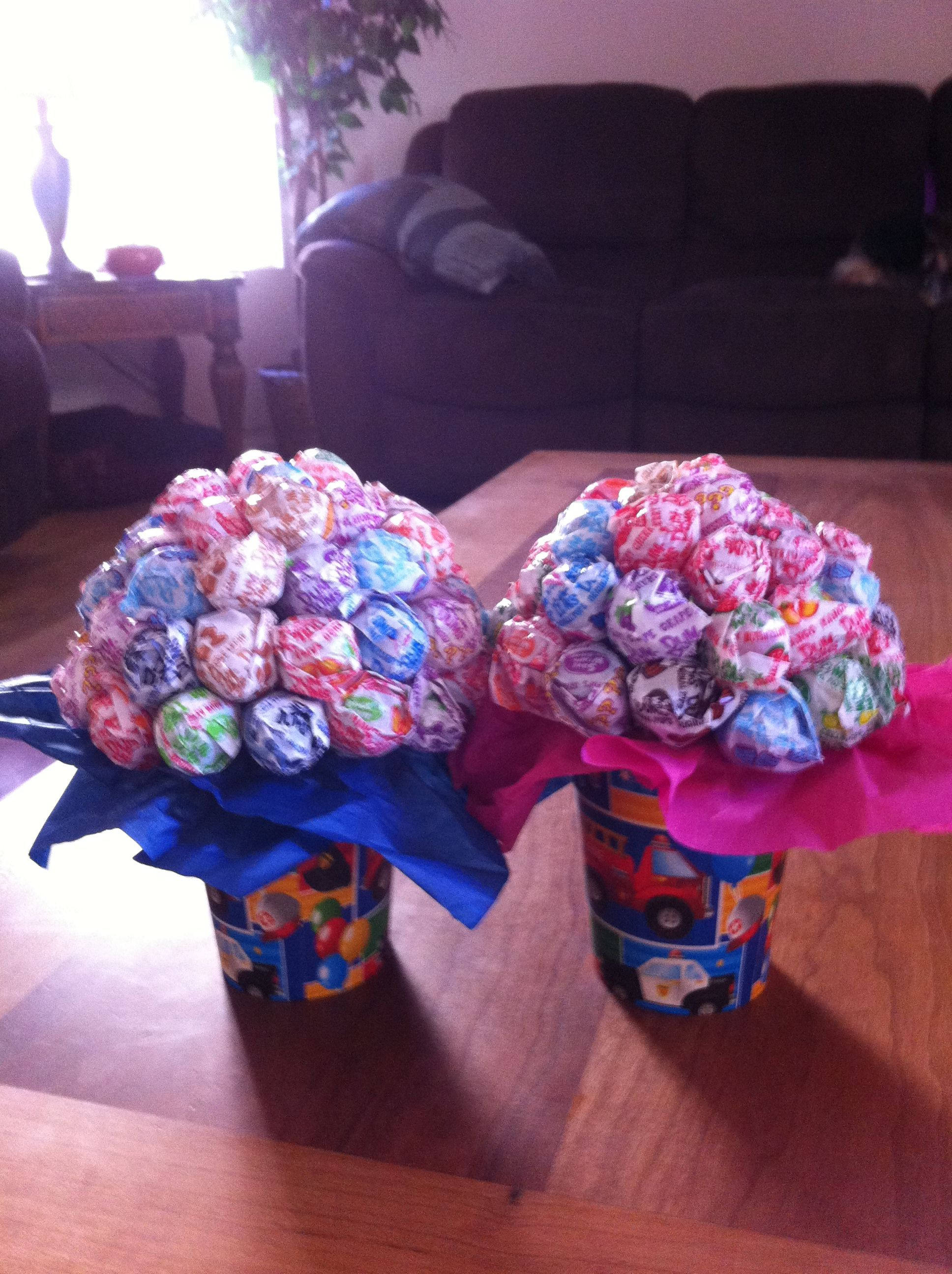 Mini dum dum pop bouquets party ideas pinterest candy bouquet mini dum dum pop bouquets izmirmasajfo Choice Image