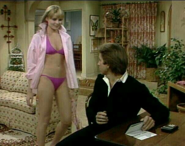 John Ritter As Jack Tripper And Priscilla Barnes As Terri
