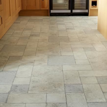Lovely Flooring Still Deciding On What To Go With White Furniture Fine Oak Worktops These Are Professional Continuous Limestone Laminate Tiles