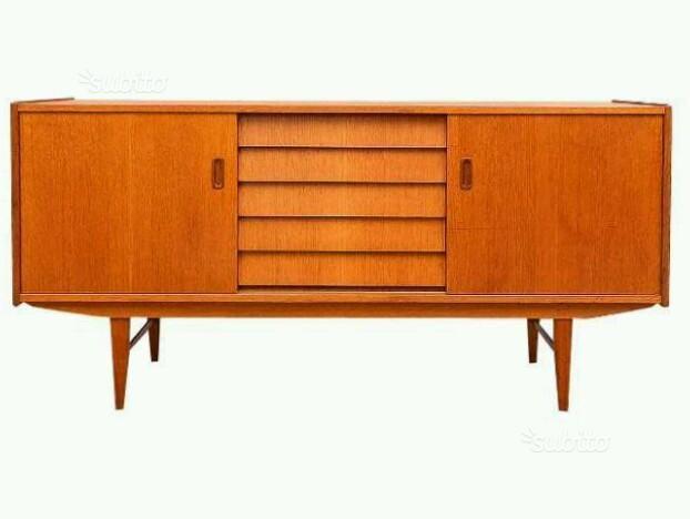 Credenza Danese Vintage : Sideboard credenza madia danese vintage anni marta e clara