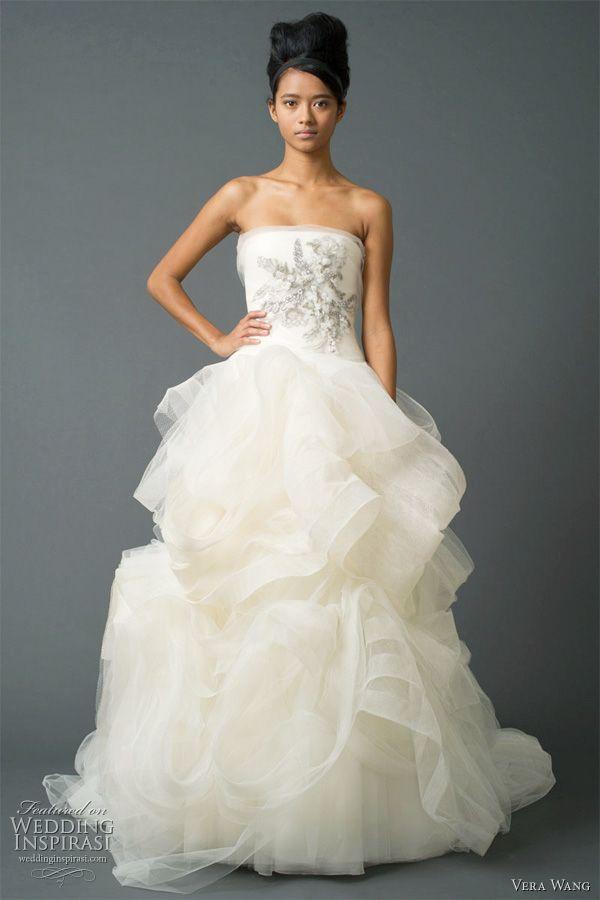 Popular Love the bodice not so much the skirt Beautiful Vera Wang Fall wedding dresses