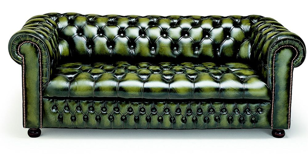 Chesterfield sofa samt  Green Leather Chesterfield Sofa | Chesterfield Sofa | Pinterest