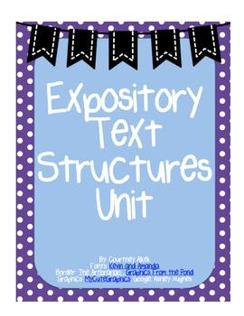 Expository Text Structures Unit | The unit, Texts, Problem ...