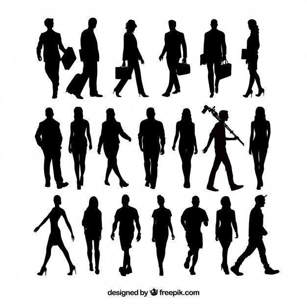 20 People Silhouettes Walking Silhouette People Silhouette Art Silhouette Architecture