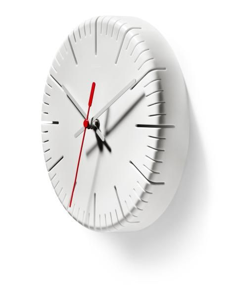 split time\u0027 wall clock designed by ed carpenter for authentics - küchen wanduhren shop