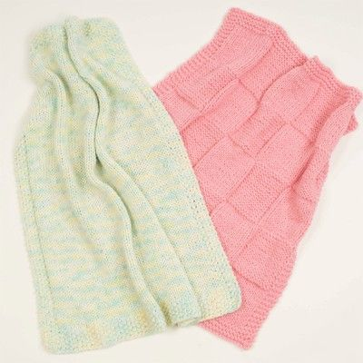 Plymouth Yarn F169 Encore Fast Baby Blankets Free Sewing