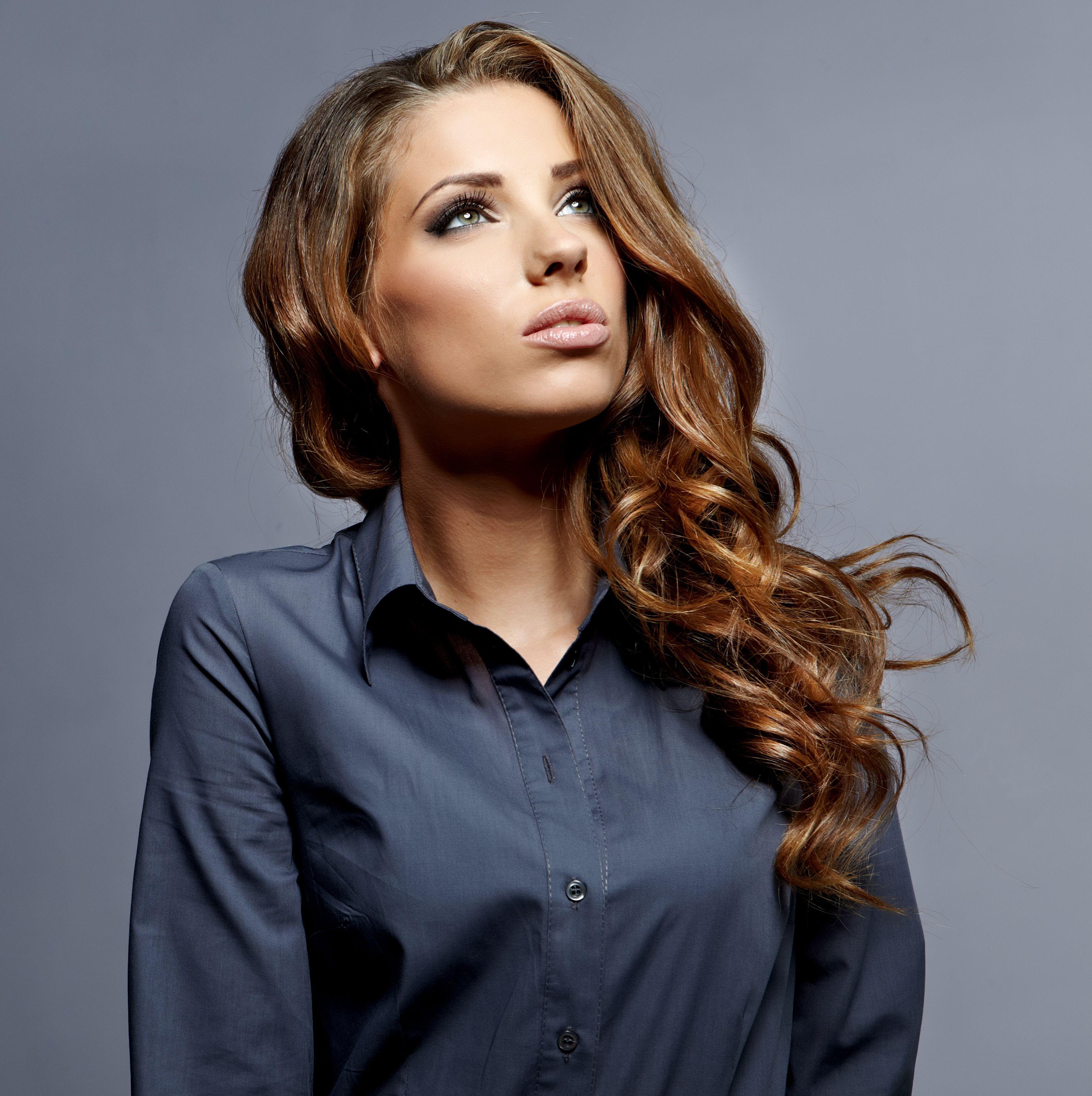 Beautiful Business Business Woman Cute Fashion Female Girl