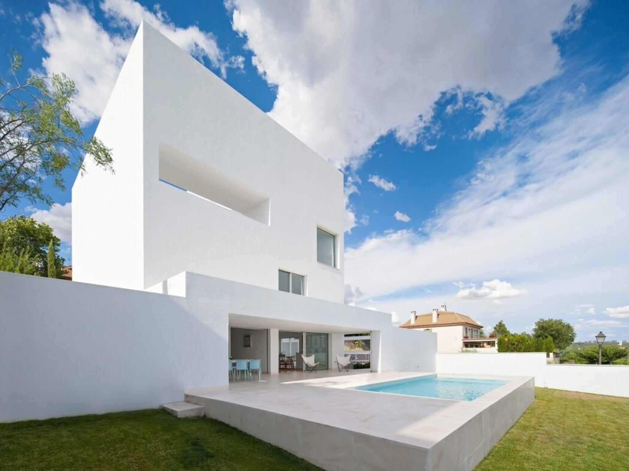 Cala House, Madrid - Campo Baeza   SdA_Blog   Cala House   Pinterest