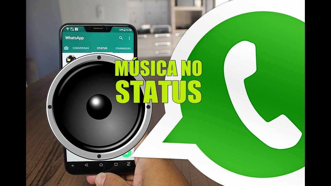 Super Truque Para Colocar Musicas No Status Do Whatsapp Youtube