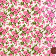 Vintage Liberty Fabric, 145cm wide Pink Roses Carline