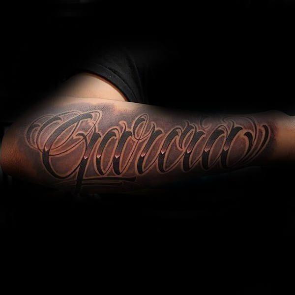 last name tattoos for men honorable ink ideas also kids cool children design brett rh pinterest