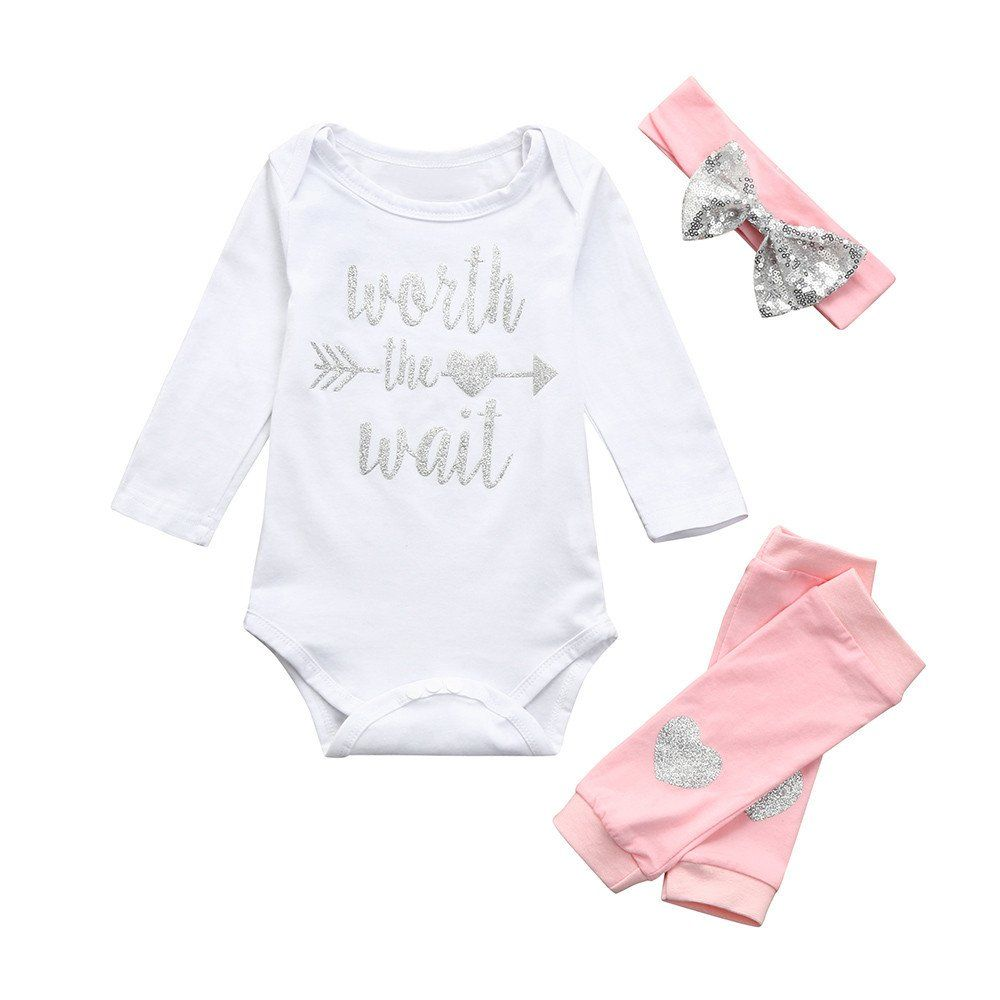 Kehen Infant Newborn Baby Cotton Pajamas Boy Girl Bodysuit Jumpsuit Winter Warm Cloths