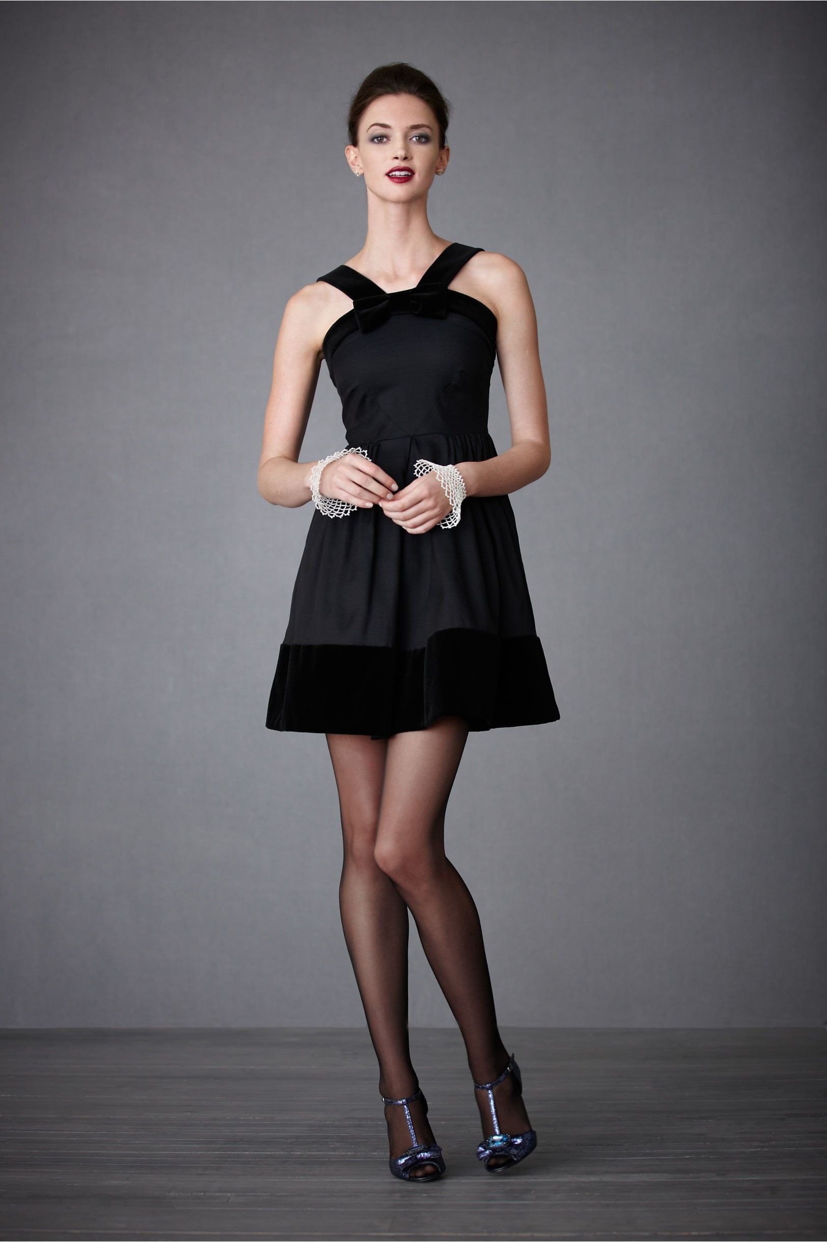 Silk Side Zip Short Special Occasions Dress Black Tie Dress Black Short Dress Black Dress