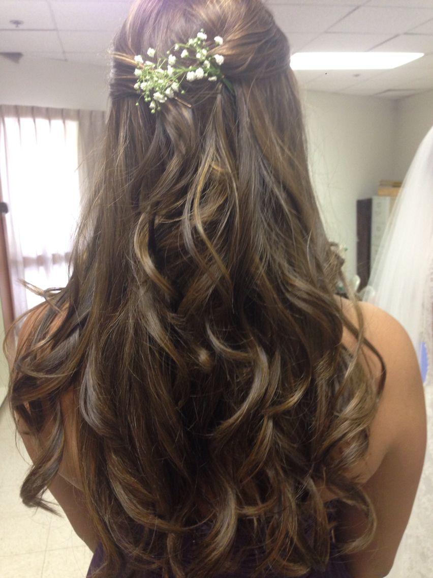 Maid Of Honor Hairstyle Hair Great Hair Wedding Hairstyles
