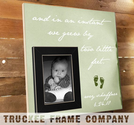 Personalized frame baby shower gift christmas gift mom to be birth announcement new parents gift new baby gift personalized frame rustic frame negle Image collections