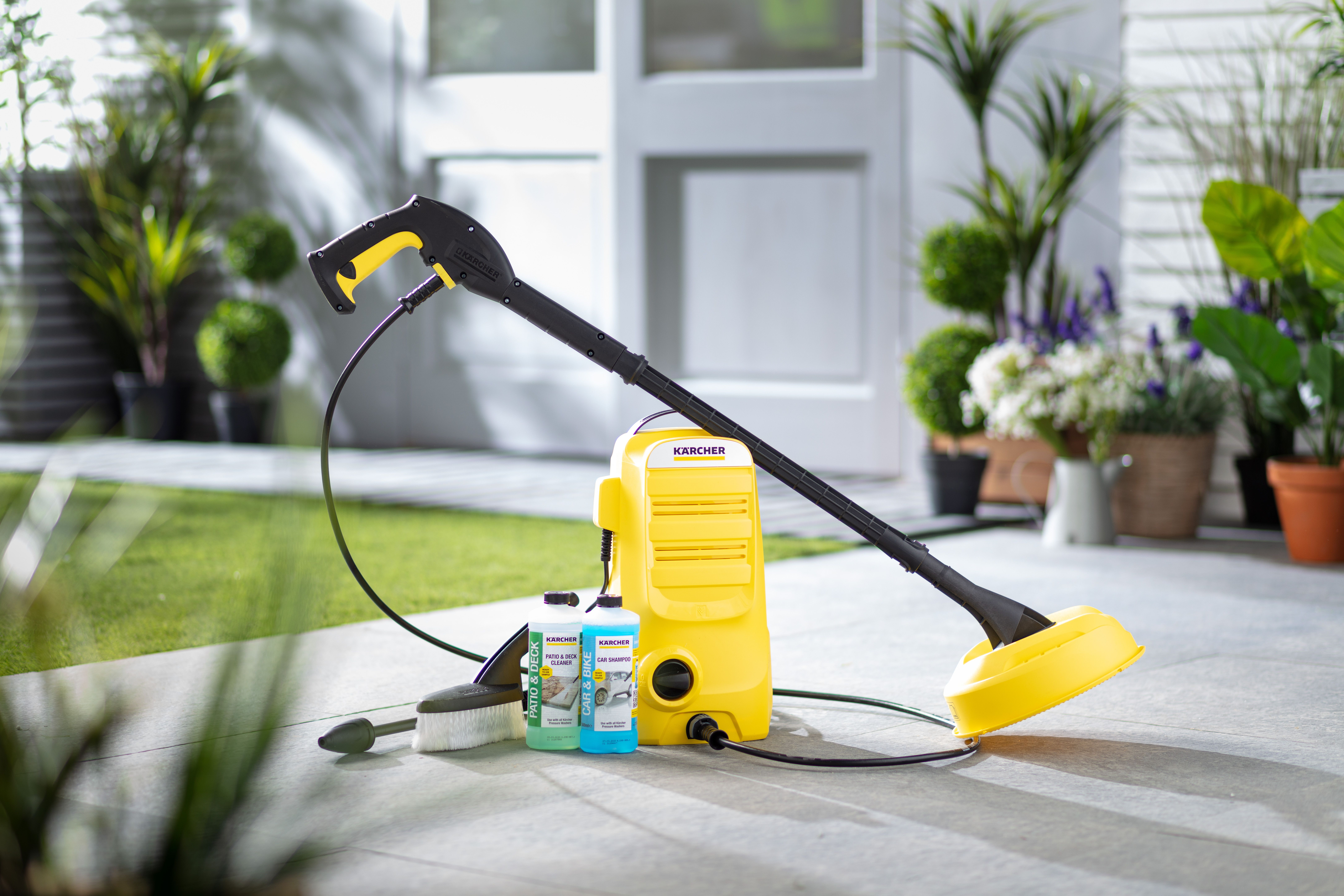 Karcher K2 Compact Home Car Pressure Washer In 2020 Pressure Washer Outdoor Cleaning Pvc Decking