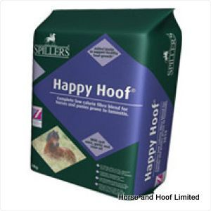 Dengie Alfalfa Pellets 20kg Spillers Happy Hoof is a low sugar low starch high fibre feed that is enriched with vitamins and minerals and includes  biotin and key antioxidants.