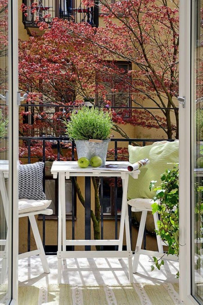 ▷ 1001 + ideas sobre decoración de terrazas pequeñas Terrazas