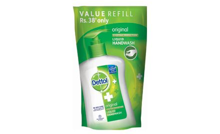 Save Rs 15 On Dettol Handwash Liquid Original Pump Pack 185 Ml
