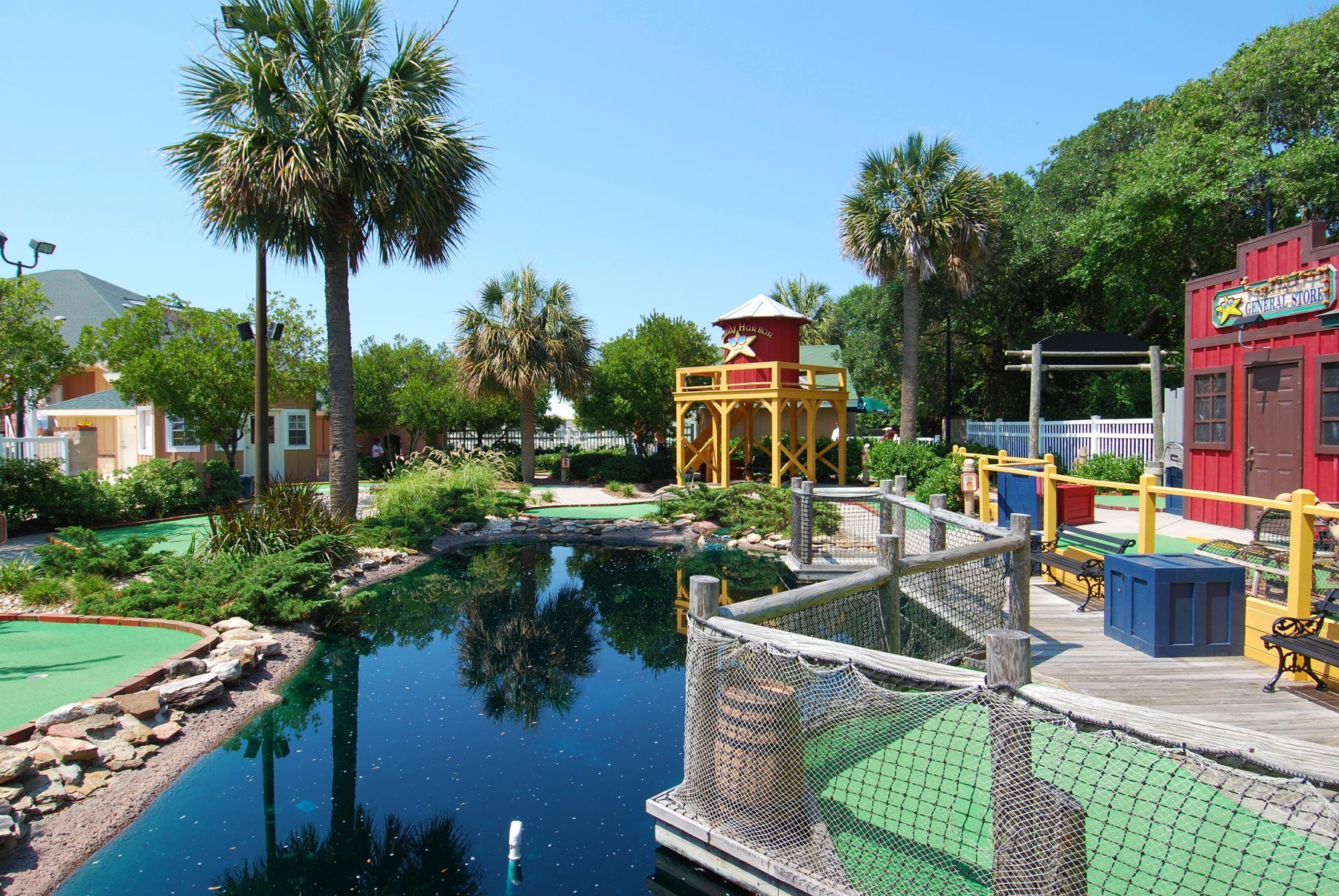 Ocean Lakes Family Campground Mini Golf Boardwalk... # ...