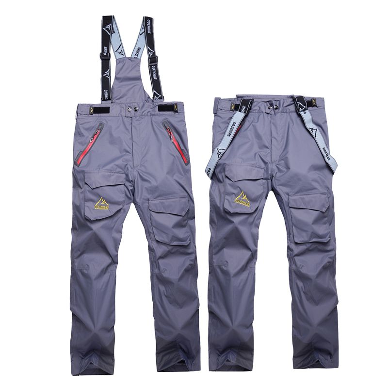 6429e34dc8 High Quality Outdoor Thick Winter Men Snowboard Skiing Pants Waterproof  Multicolor Warm Breathable Ski Pant Mountain