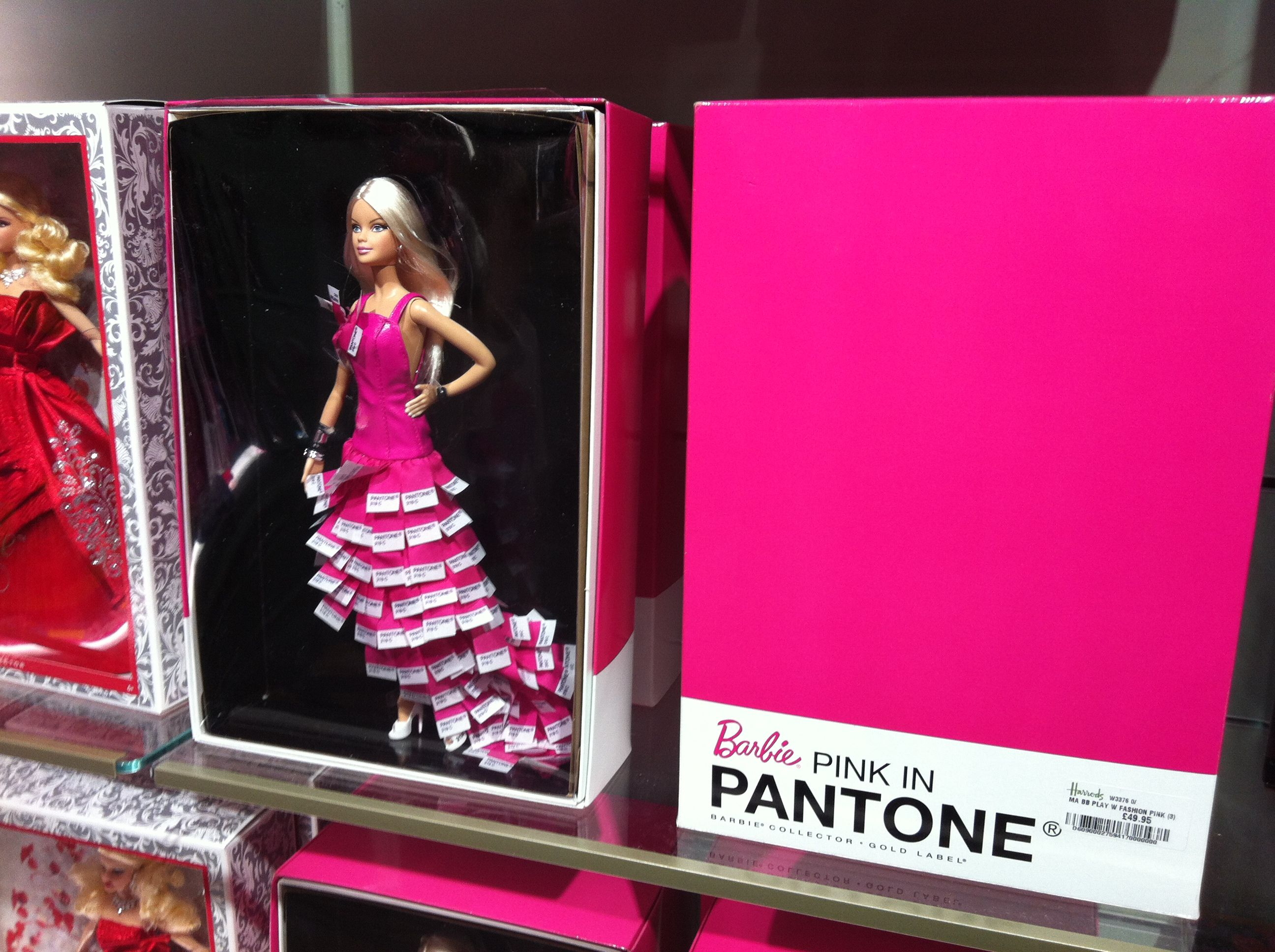 Pantone Barbie at Harrods | Pink | Pinterest