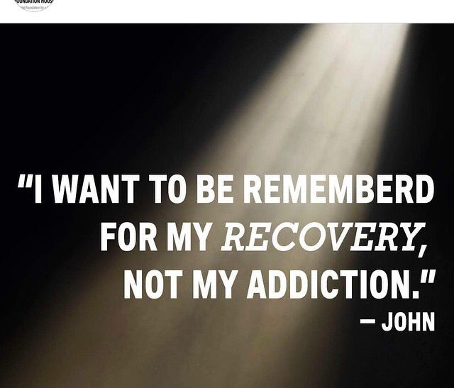Anyone Can Drink Or Use Drugs. It Takes Real Courage To