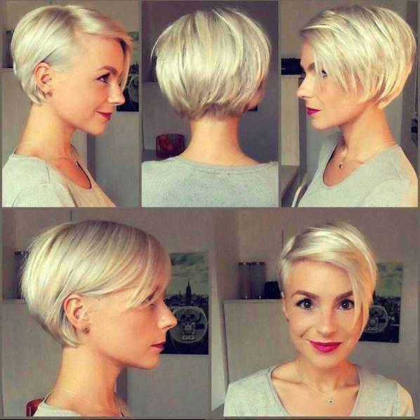 5 Bob Mit Kurzem Nacken Coiffure Short Hair Styles Hair En Hair