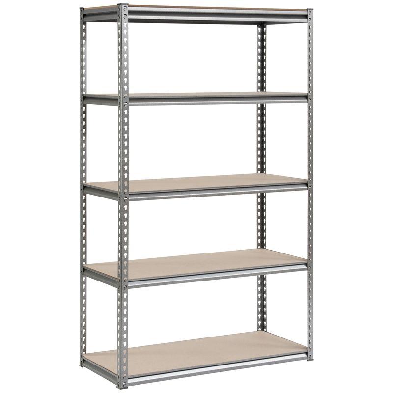 handy storage boltless 5 shelf unit i n 2760331 bunnings. Black Bedroom Furniture Sets. Home Design Ideas