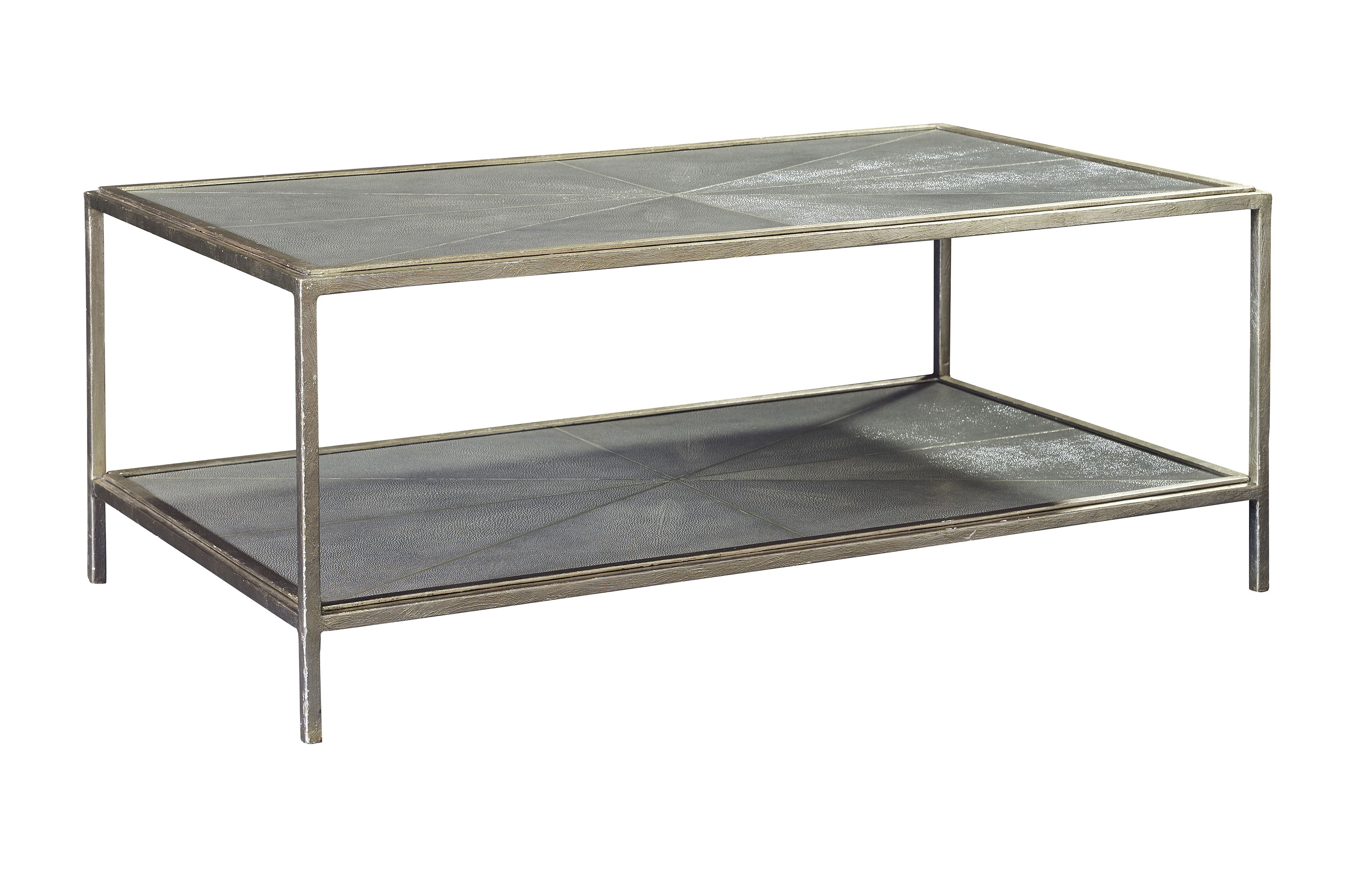 Charcoal Shagreen Cocktail Table Inspired By French Art Deco Pieces Of The  20u0027s And 30u0027s, This Stylish Cocktail Table Features A Rectangular Shaped  Top And ...