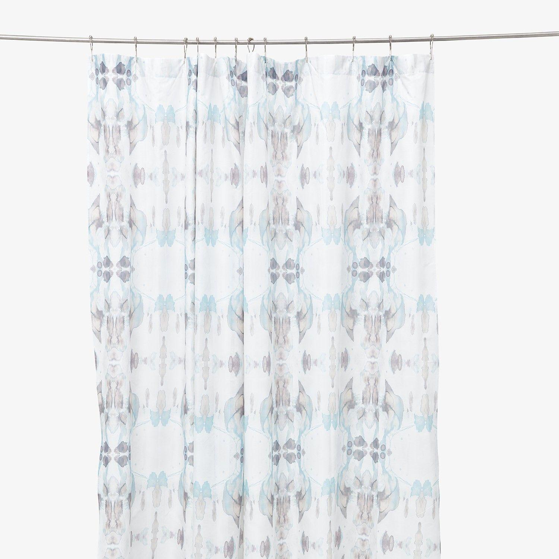 Abc Co Create Eskayel Isla Madagascar Shower Curtain Sky