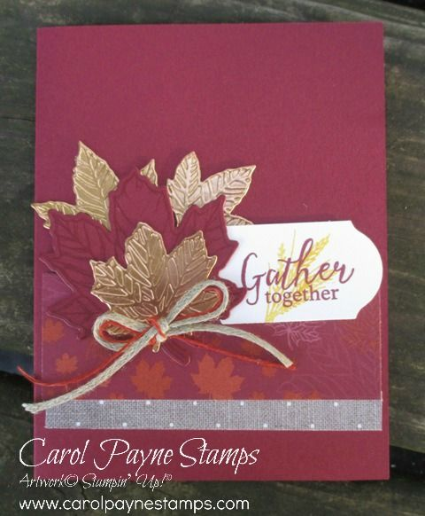 Gather Together swaps on my blog today for Monday Swap Day.   Fall cards, Paper crafts cards ...