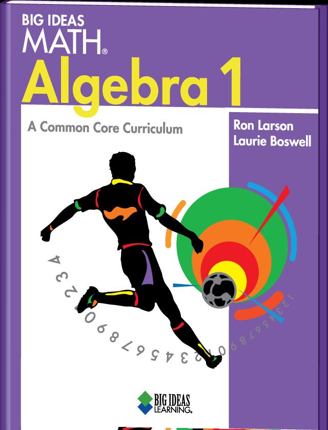 "slope intercept form big ideas math  Category: Most Promising New Textbook (E-Hi) ""Big Ideas Math ..."