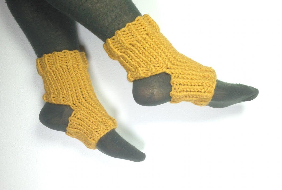 Tejer calcetines de yoga con telar circular. Video de Tuteate ...
