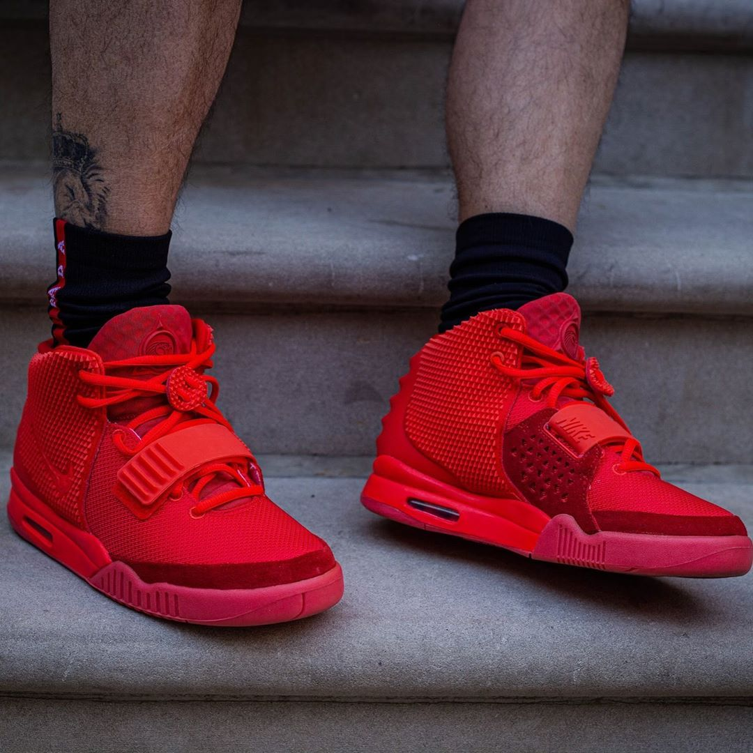 Nike Air Yeezy 2 Ps Red October 508214 660 New Sneakers Air Yeezy Air Yeezy 2 Sneakers Fashion
