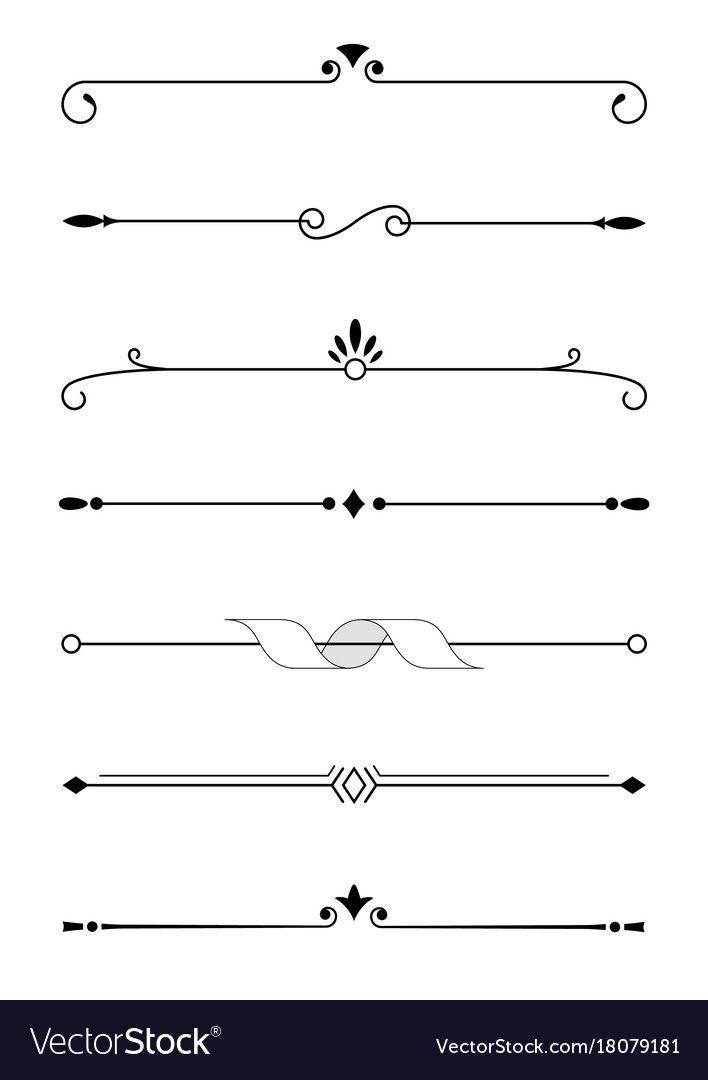 Decorative Text Divider Png Bullet Journal Lettering Ideas Bullet Journal Dividers Text Dividers