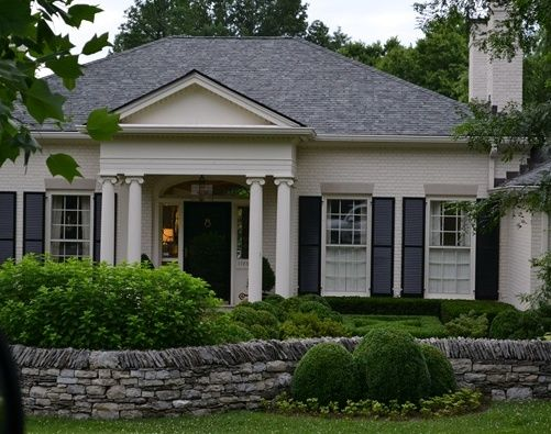 Best 25+ Painted Brick Exteriors Ideas On Pinterest