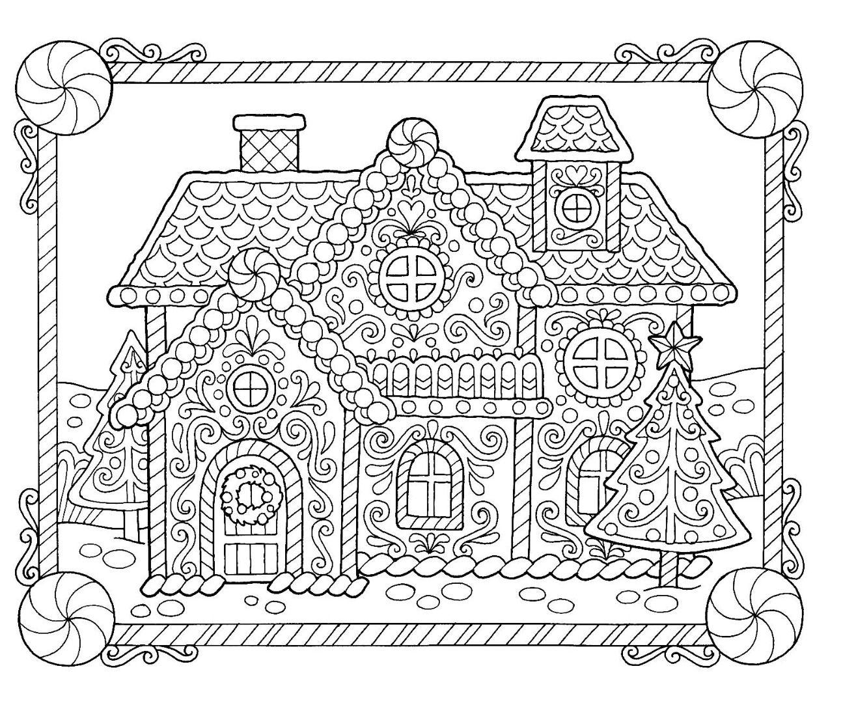 Christmas Gingerbread Coloring Page Christmas Coloring Sheets Christmas Coloring Pages Free Christmas Coloring Pages