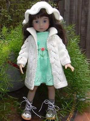 """KNIT Outfit For Dianna Effner Little Darling 13"""" or Kish 14"""""""