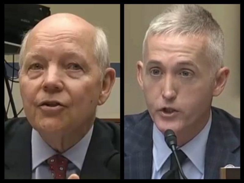 In brutal new grilling, Rep. Trey Gowdy shreds IRS commissioner over agency's shifting stories