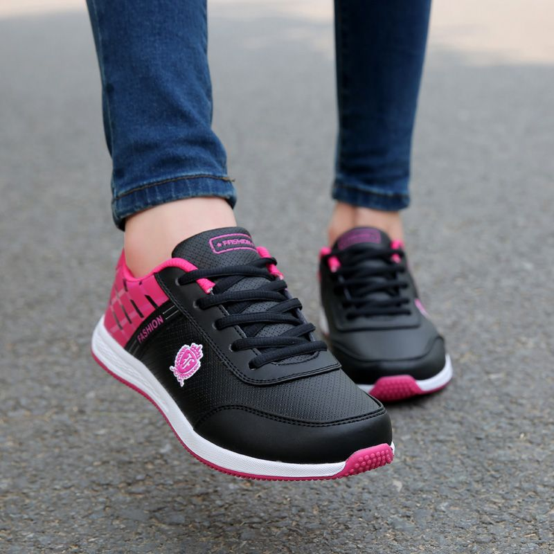$16.99 (Buy here: https://alitems.com/g/1e8d114494ebda23ff8b16525dc3e8/?i=5&ulp=https%3A%2F%2Fwww.aliexpress.com%2Fitem%2F2017-New-Fashion-Women-Trainers-Breathable-Sport-Woman-Shoes-Casual-Outdoor-Walking-Women-Flats-Tenis-Feminino%2F32787494478.html ) 2017 New Fashion Women Trainers Breathable Sport Woman Shoes Casual Outdoor Walking Women Flats Tenis Feminino Sapatilha for just $16.99
