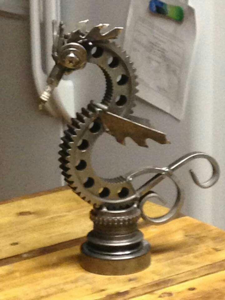 Metal Seahorse Craft Ideas Scrap Metal Art Metal Art Projects